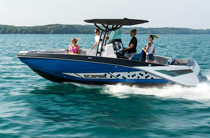 Scarab 255 Series Jet Boats