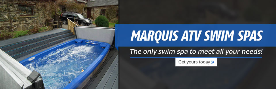 Marquis ATV Swim Spas: The only swim spa to meet all your needs!
