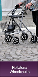 Rollators/Wheelchairs