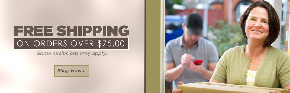 Get free shipping on orders over $50! Click here to shop online.