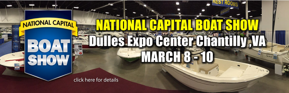 National Capital Boat Show at the Dulles Expo Center