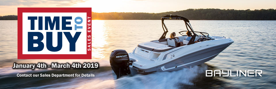 Bayliner Time to Buy Sales Event
