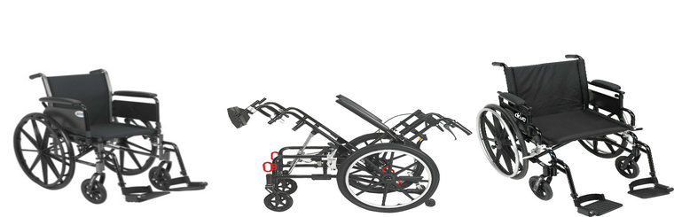 Wheelchairs and Wheelchair Accesories