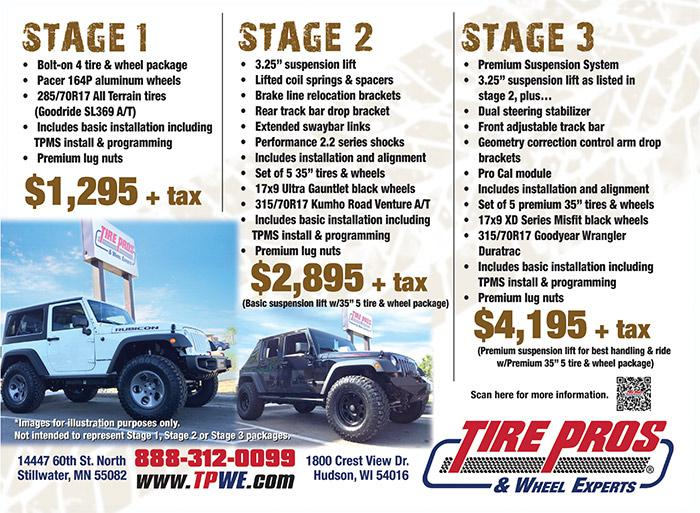 Jeep Conversion Packages