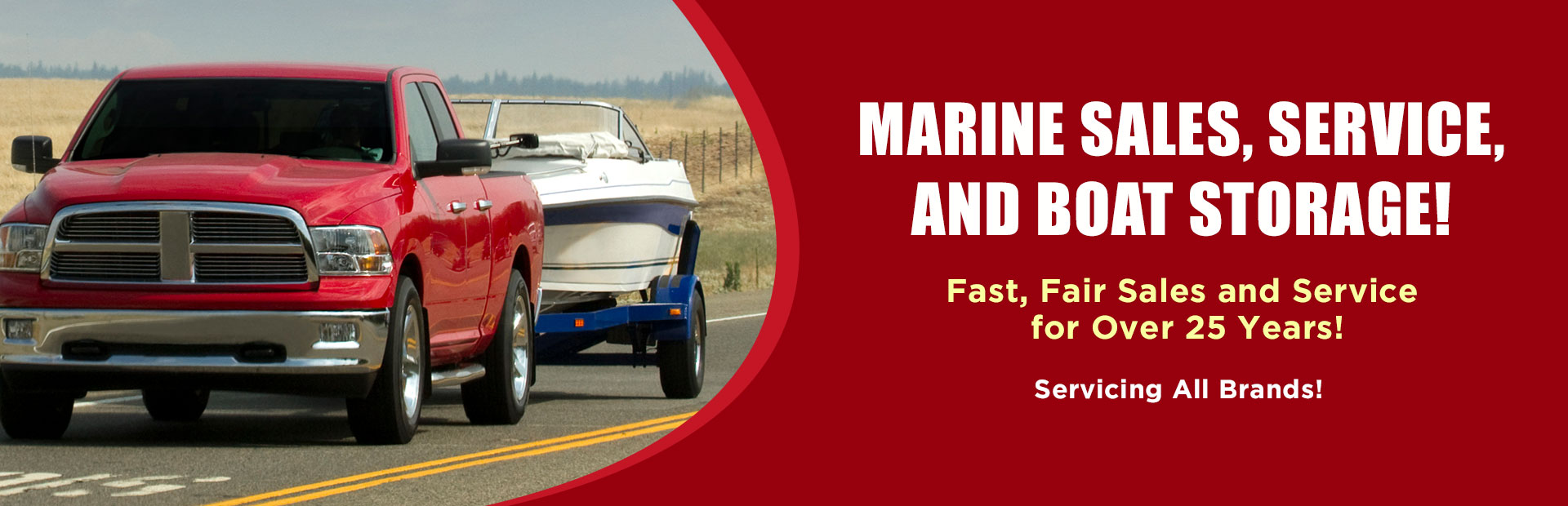 Champlain Valley Motorsports offers marine sales, service, and boat storage! They service all brands! They have offered fast, fair sales and service for over 25 years!