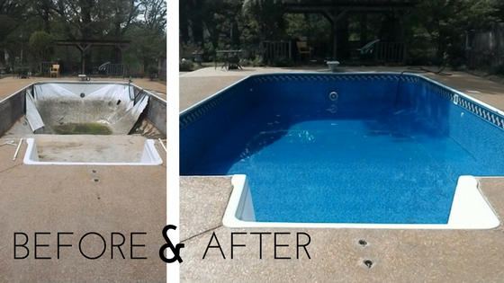 Need A New Pool Liner Or Safety Cover Request Service Here