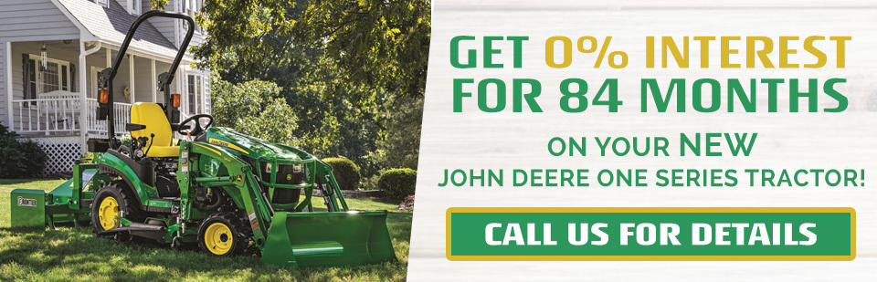 John Deere One Series Rotational Banner