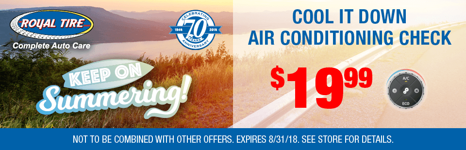 Cool it Down Air Conditioning Check - Only $19.99