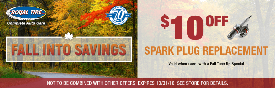 $10 Off Spark Plug Replacement!