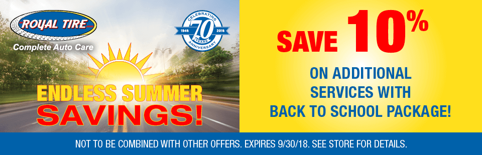 Save 10% on additional services with Back To School Package!