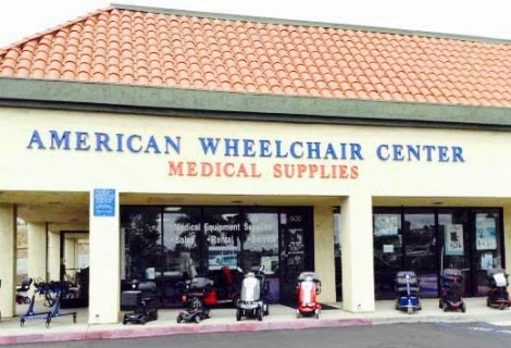 Home American Wheelchair Center Medical Equipment & Supplies Vista