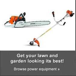 Get your lawn and garden looking its best! Browse power equipment.