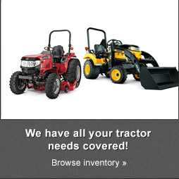 We have all your tractor needs covered! Browse inventory