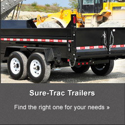 Sure-Trac Trailers: Find the right one for your needs »