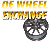 OE wheel exchange: Thousands in stock and ready to ship! Contact us today.