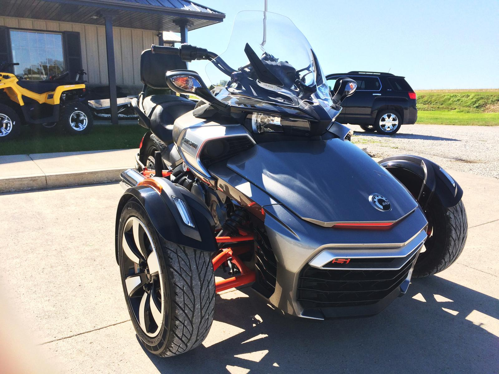 2015 Can Am Spyder F3 S SE6 for sale in Lake View IA
