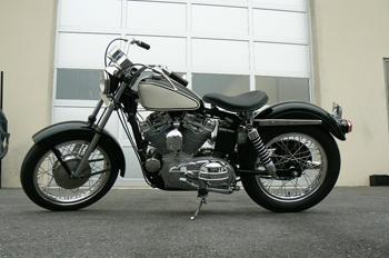 1966 Harley XLCH Ironhead Restoration Jackman Custom Cycles