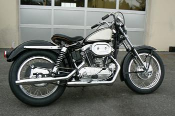 1966 Harley XLCH Ironhead Restoration Jackman Custom Cycles