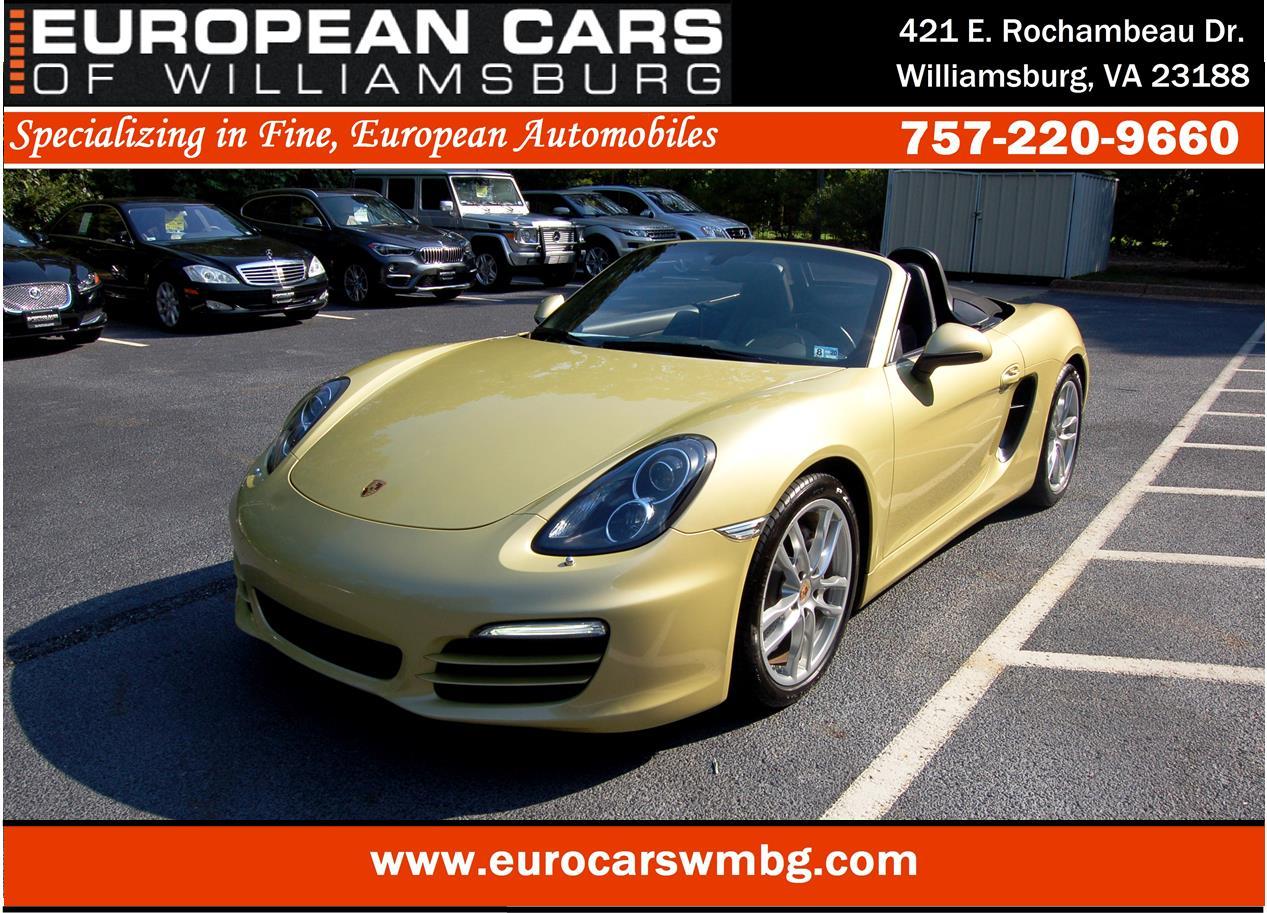 2013 Porsche Boxster for sale in Williamsburg, VA | European