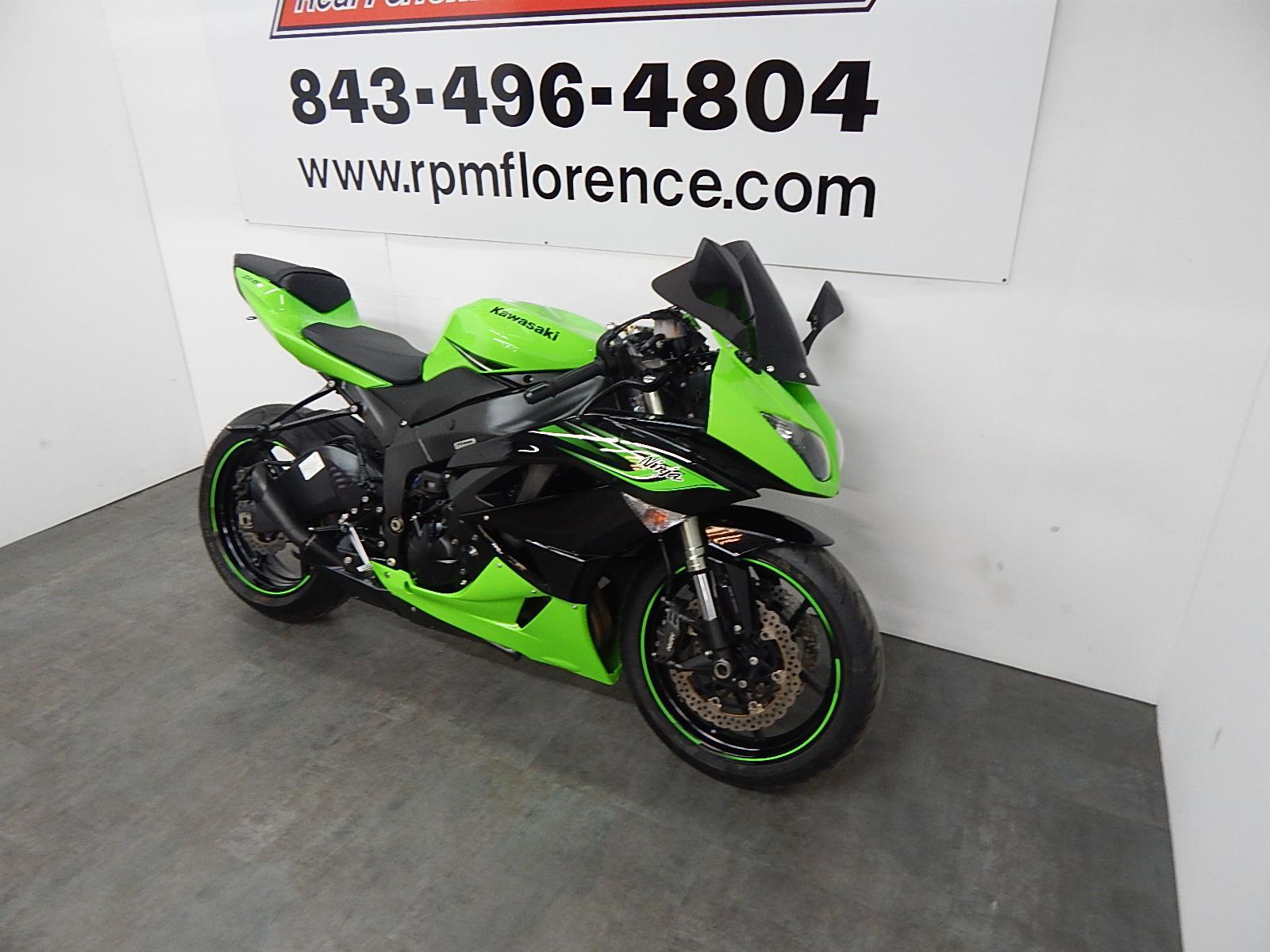 2011 Kawasaki Ninja Zx 6r For Sale In Florence Sc Real