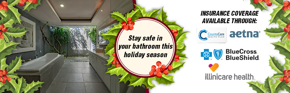 Bathroom Safety this Holiday Season