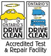 Ontario's Drive Clean Accredited Test & Repair Facility