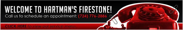 Welcome to Hartman's Firestone!