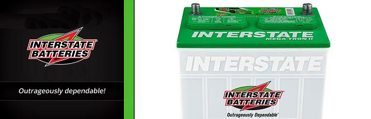 Interstate Batteries available at Team Matthews Tire Center