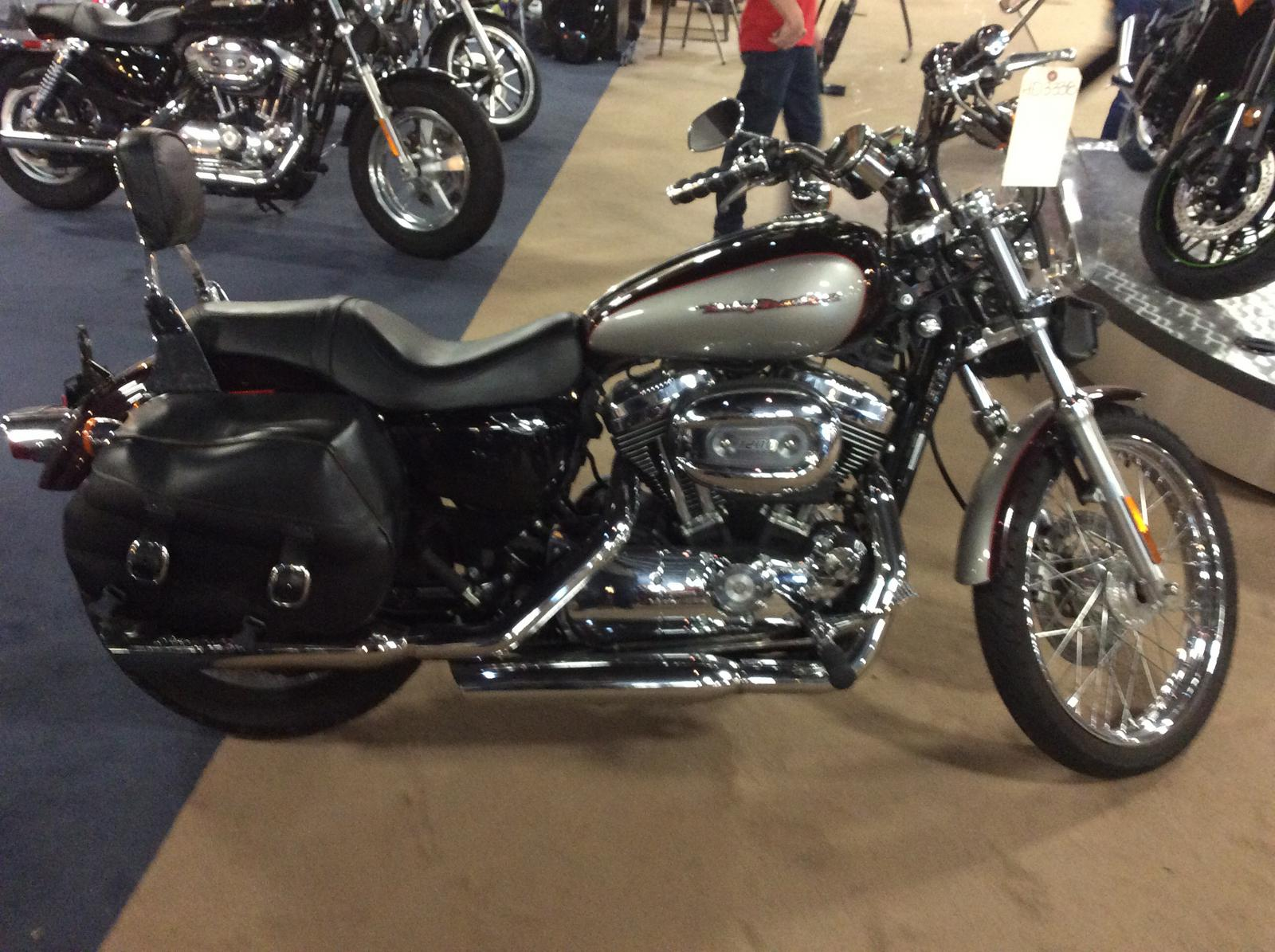 2007 Harley Davidson Sportster 1200 Custom For Sale In Springfield Il World Of Powersports Inc
