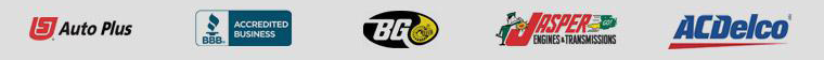 Auto Plus, BG, Jasper, and ACDelco. We are accredited by the BBB.