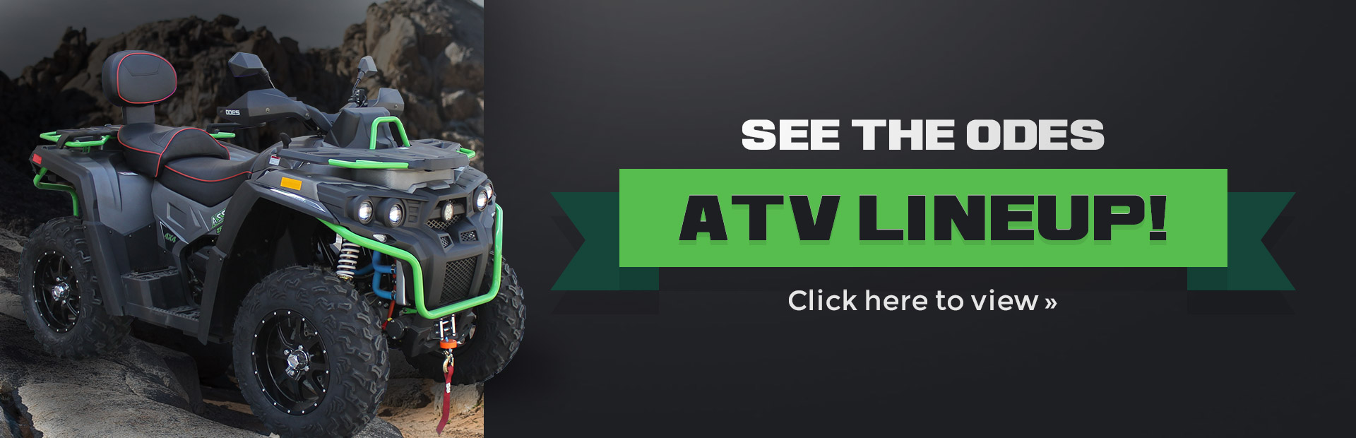 2019 ODES ATVs: See the ODES ATV lineup here!