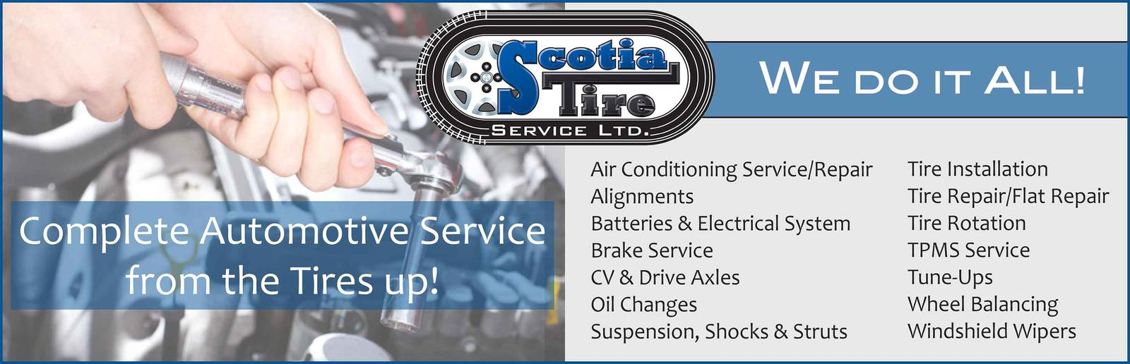 Scotia tire provides premium automotive services and products in 5 complete auto service reheart Image collections