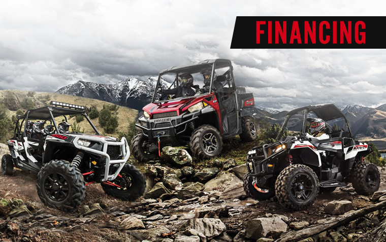 Finance your Polaris Powersports Purchase - Great financing terms at Vetter Sales in MN!