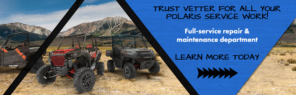 Polaris ATV, Side by Side and Snowmobile Service & Maintenace Work. Mankato, MN!