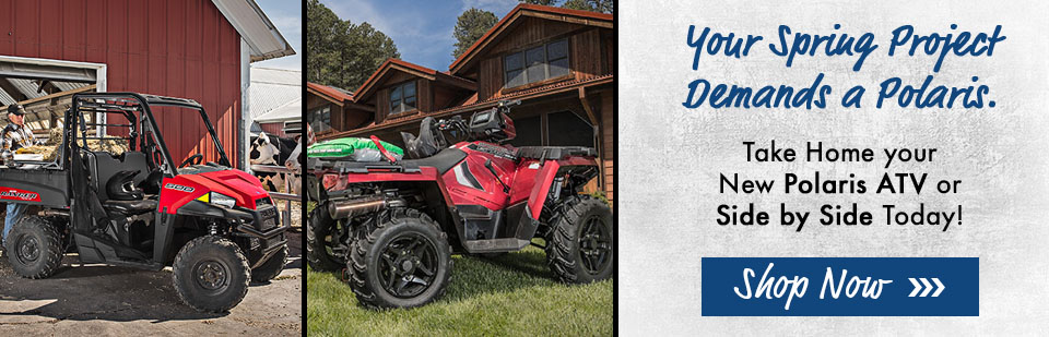 Shop Polaris Side by Sides and ATVs in Mankato, MN at Vetter Sales