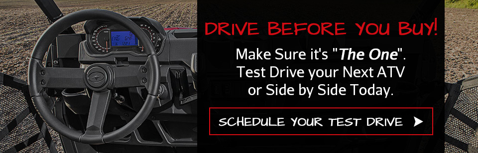 Schedule a Test Drive for your Polaris ATV or Side by Side in Mankato, MN Polaris Dealership