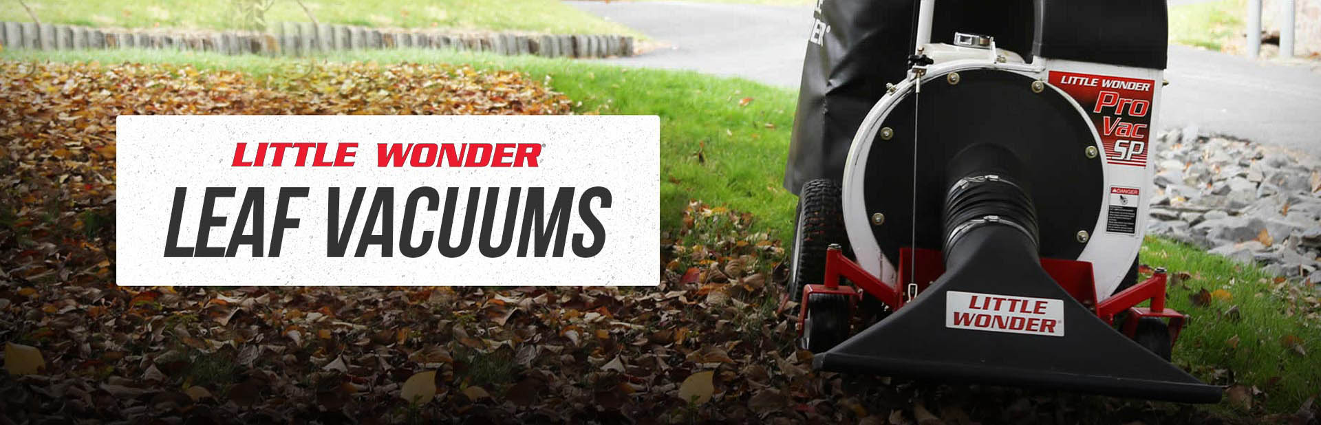 Paul's Parts carries Little Wonder leaf vacuums!