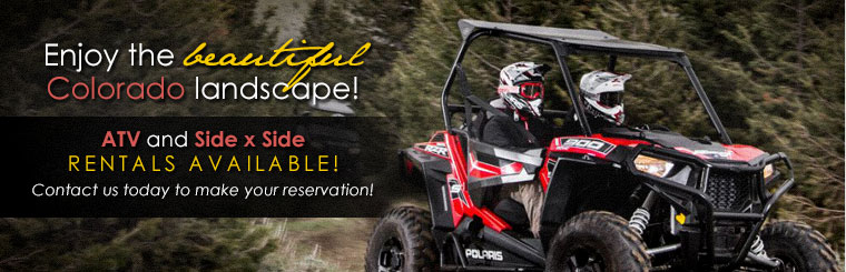 ATV and Side x Side Rentals Available: Click here for more information!