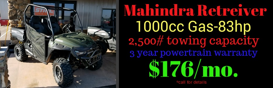 Mahindra Retreiver 1000cc Gas Green