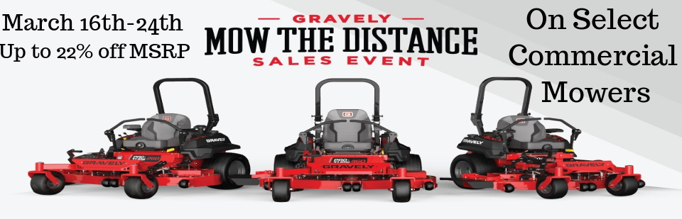 Mow The Distance Sales Event