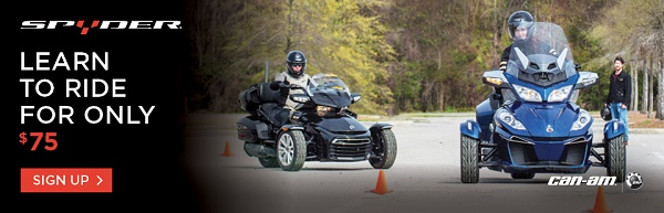 Can-am Spyder Rider Training