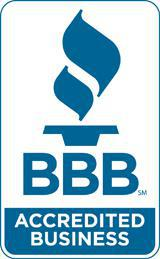 We are accredited by the Better Business Bureau.