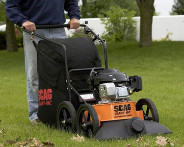 Scag Commercial Lawn Vacuums
