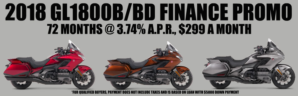 GL1800B/BD FINANCE PROMO