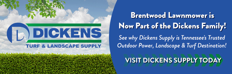 Shop Outdoor Power Equipment - Zero-Turn Mowers, Landscape and Turf Supplies & More at Dickens & Brentwood!