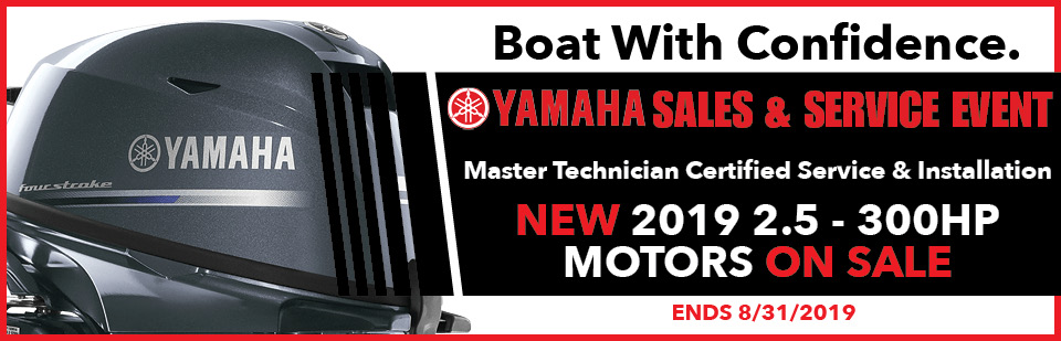 2019 Yamaha Outboard Sales Event hilton head sc and okatie sc