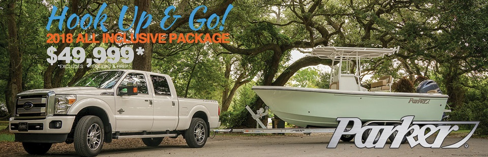 Parker Boat Package 2018 HH Boathouse Hilton Head SC1