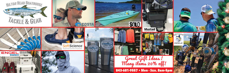Tackle & Gear Christmas Sale HH Boathouse