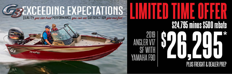2019 Angler V17 SF National FP