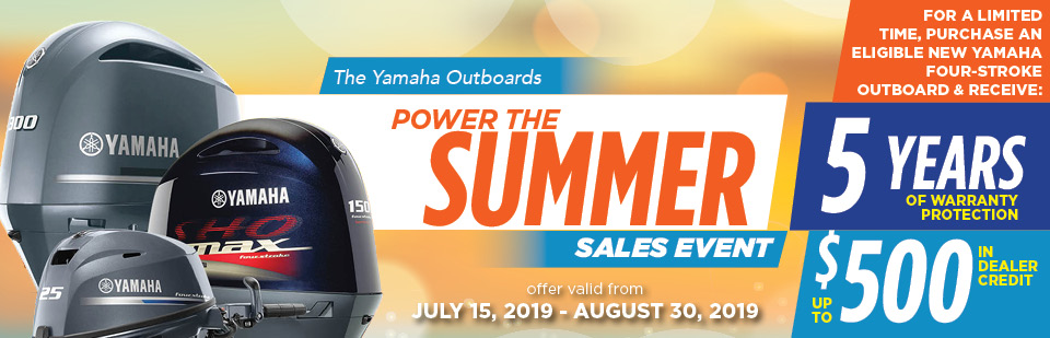 yamaha summer sales event the boathouse sc
